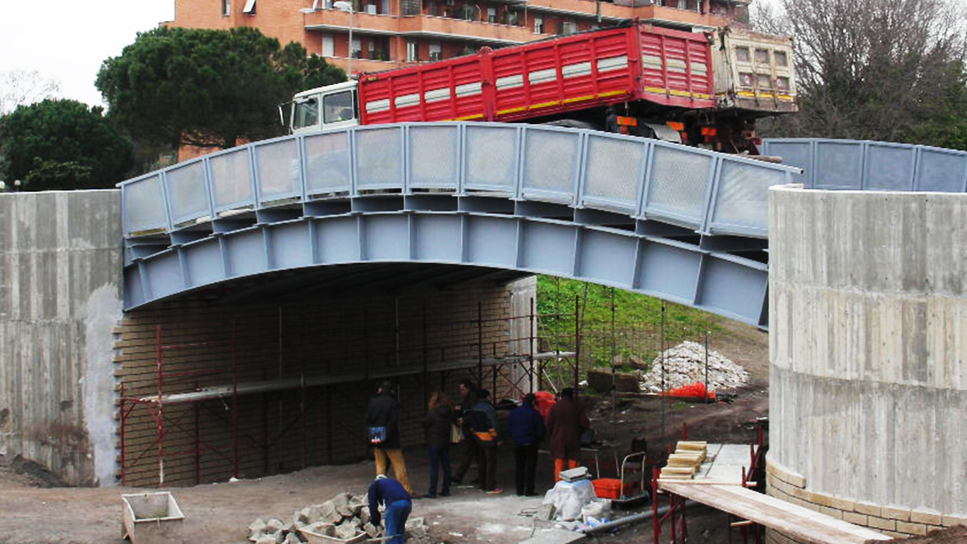 prove di carico su ponti e viadotti